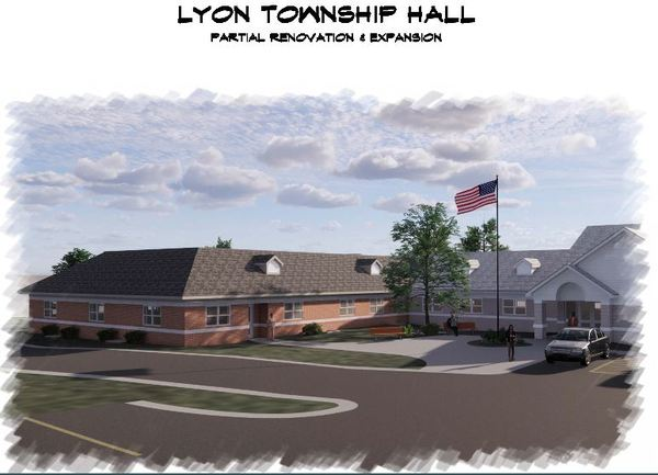 Lyon Township Hall To Undergo Renovation/Expansion Project
