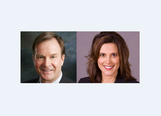 Schuette & Whitmer To Square Off For Governor