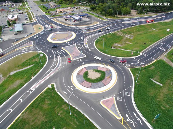 Crashes Lead To Roundabout Reconstruction