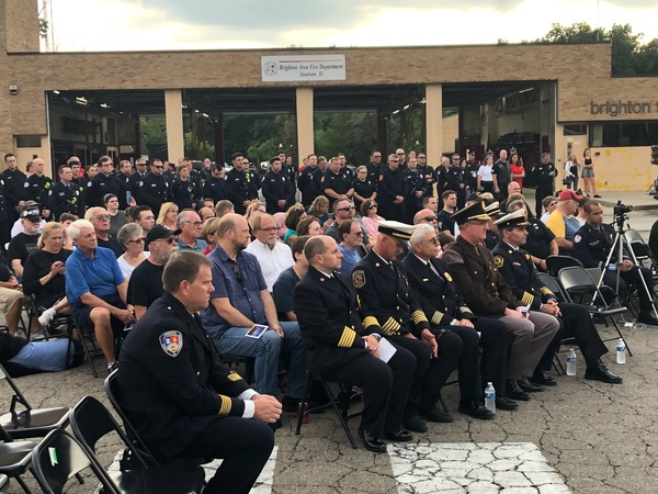Brighton Fire Hosts Annual September 11th Tribute