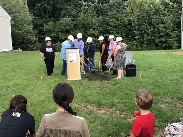 Ground Broken On Expansion To Children's Area At Salem-South Lyon Library