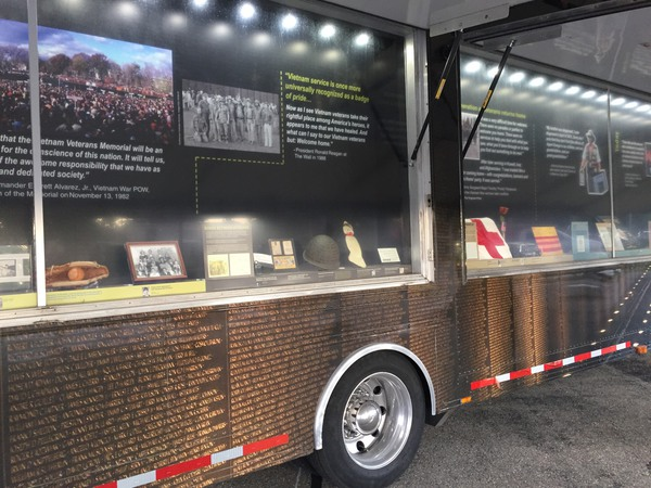 The Wall That Heals Now Open For Viewing