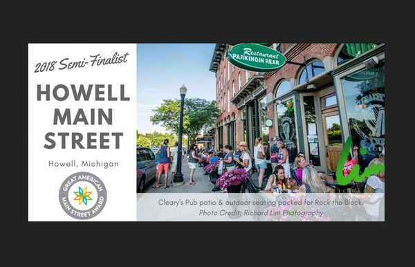 Howell Again Named Semifinalist In Great American Main Street Contest