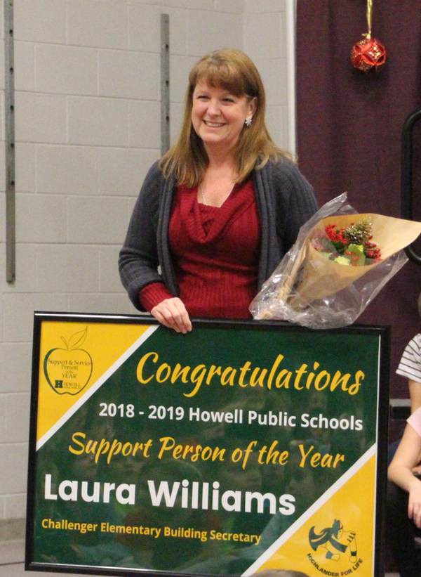 Howell School District Announces Support Person & Service Person of the Year