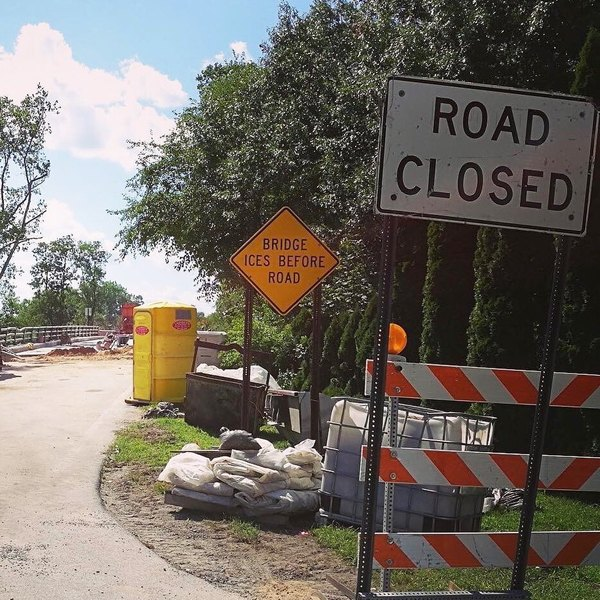 Crouse Road Bridge To Remain Closed Until September 16th
