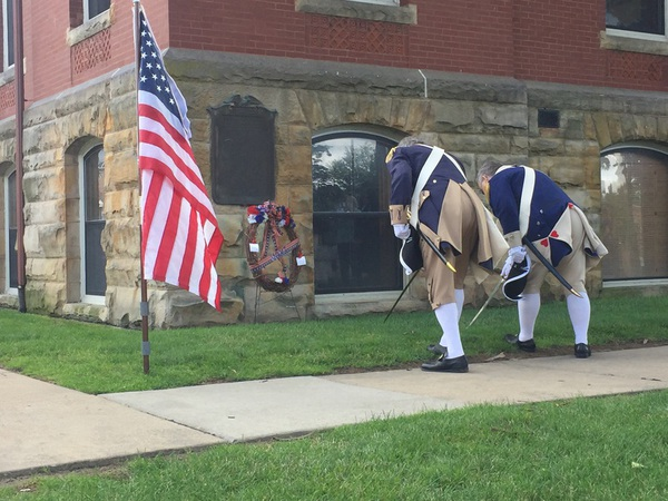 Fallen WWI Soldiers Honored at Wreath-Laying Ceremony in Howell