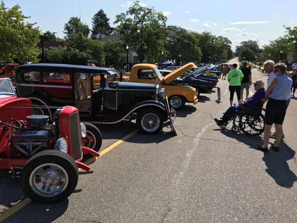 Vintage Vehicles On Display During Melonfest Car Show