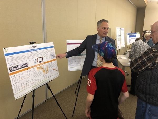 Final Open House Held For Transit Master Plan