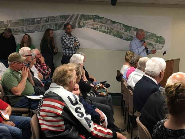 Residents Pack Brighton Twp. Hall To Oppose Gravel Pit Rezoning