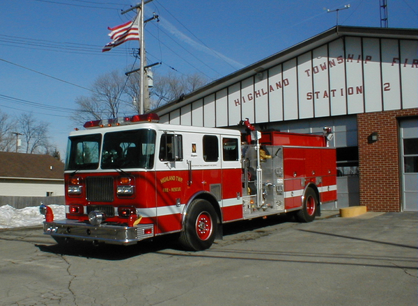 Highland Township Officials Seeking Proposals For New Fire Stations