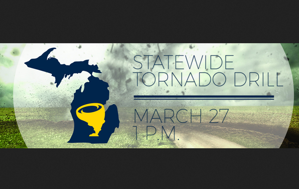 Statewide Tornado Drill Set For Wednesday Afternoon
