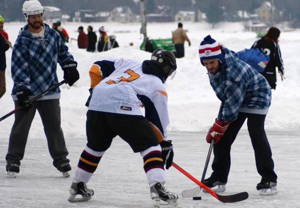 Mild Weather Forces Cancellation Of Pond Hockey Tournament