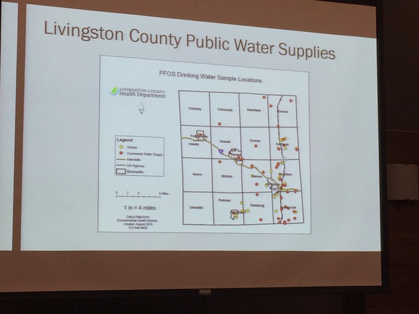 Livingston County Public Water Sites Being Sampled For PFAS