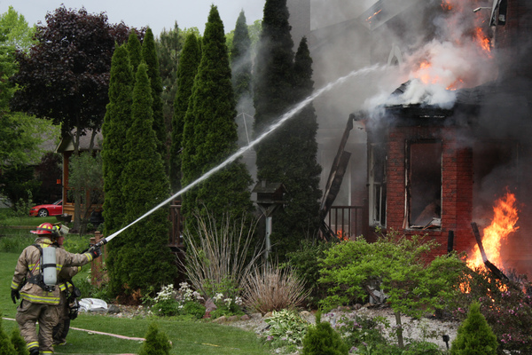 Grill Suspected In Memorial Day Fire In Fenton Township