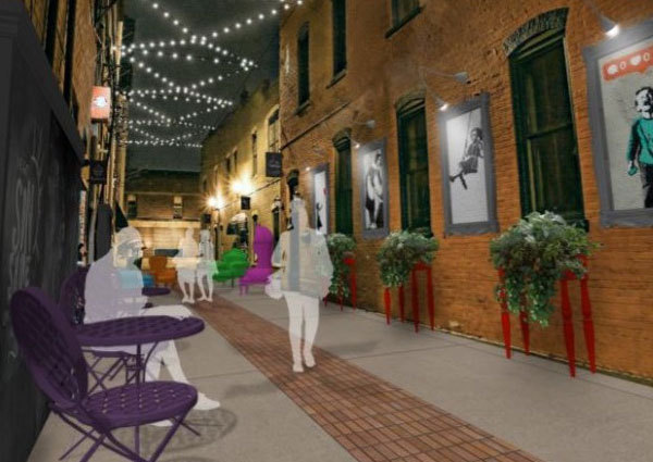 Effort To Transform Howell Alleyway Two-Thirds To Crowdfunding Goal