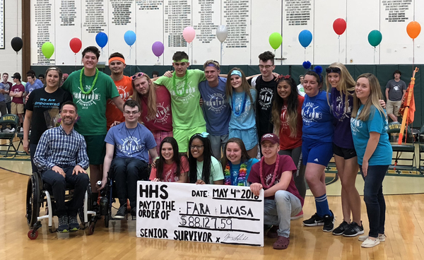 Howell High School's Senior Survivor Raises Record-Breaking Amount