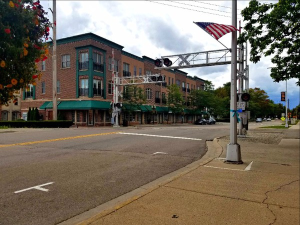 Railroad Crossing Construction Complete in Downtown Brighton