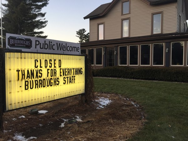 Burroughs Roadhouse Quietly Closes