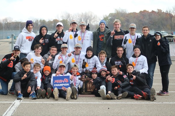 BHS Garners State Title in Boys' Cross Country