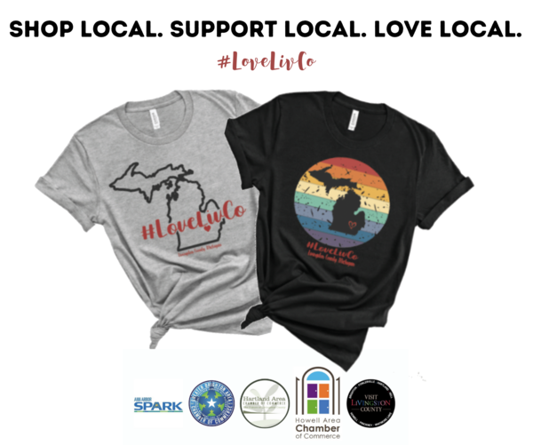 #LoveLivCo Swag To Help Support Local Small Businesses