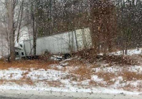 Medical Emergency Cited As Cause Of US-23 Semi Crash