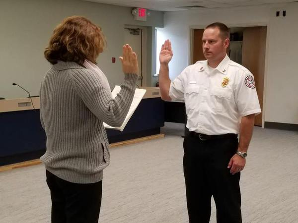 Former Captain Named Brighton Area Fire Authority Fire Marshal