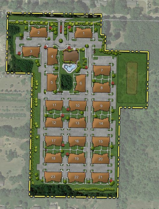 Rezoning Approved For Proposed Green Oak Apartment Complex