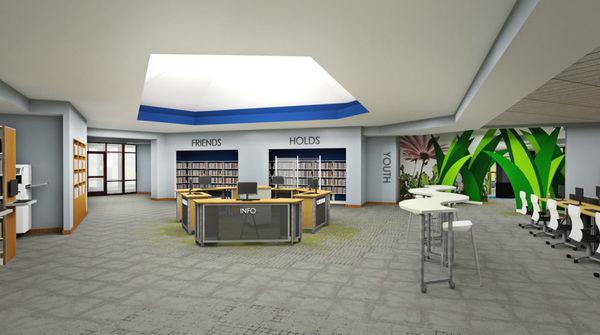 Major Renovation Project Underway At Brighton District Library