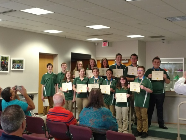 Howell Students, Principal & Board Member Recognized