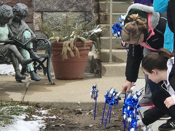 LACASA Hosts Annual Pinwheels For Prevention Ceremony