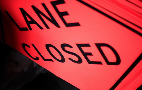 Sign Repairs & Construction To Bring Lane Closures On Grand River