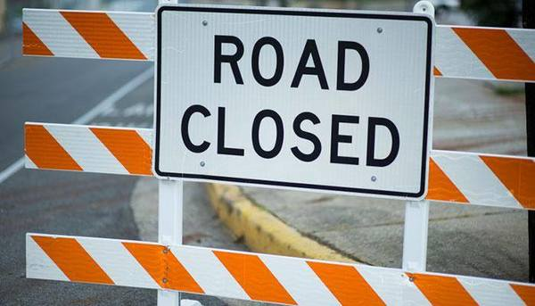Road Closures Planned For Culvert Work Thursday