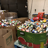 Howell's District-Wide Food Drive Exceeds Goal
