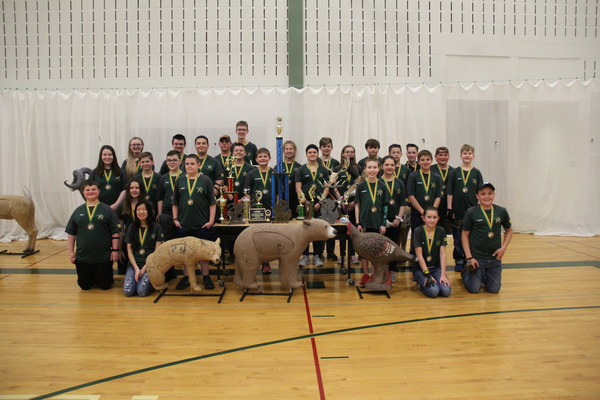 Parker Archery Team Heads Up District Delegation To Championship