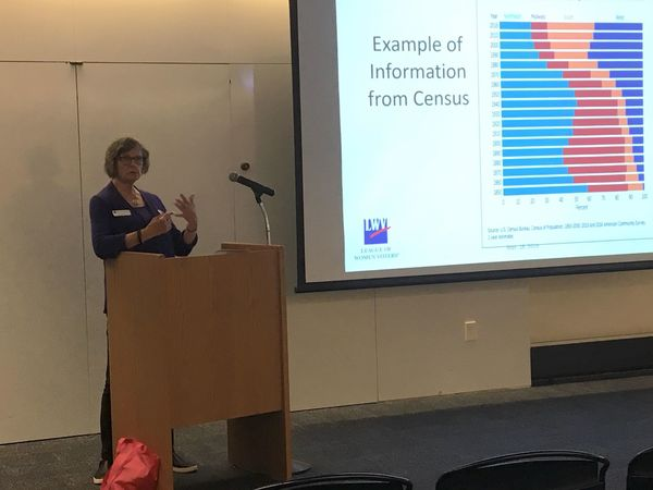 Speaker Says Census Is Built On Past Experiences, Current Technology