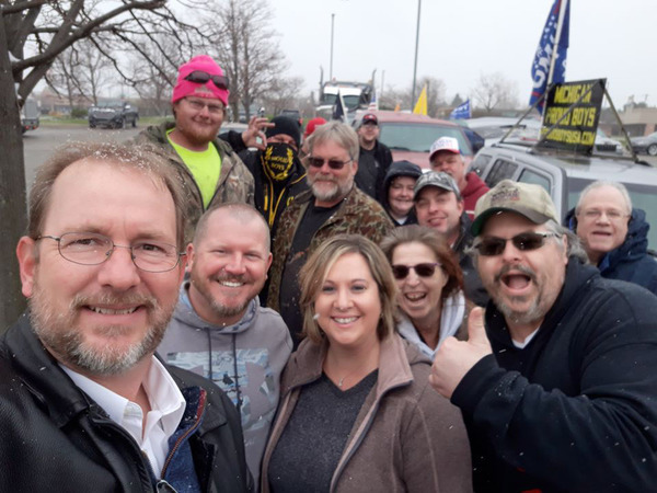 Detmer Reposts Controversial Selfie, Defends Proud Boys