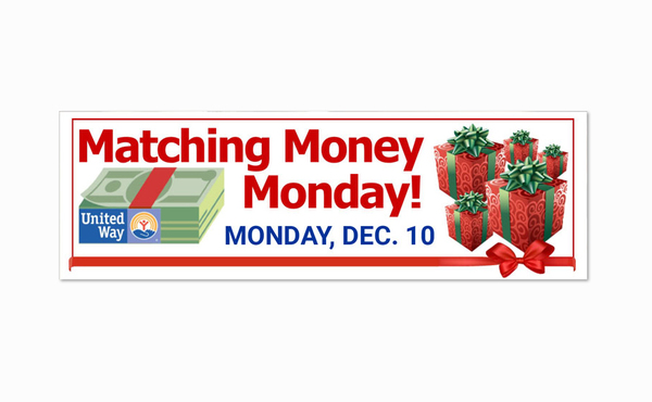 Matching Money Fundraiser Coming This Monday