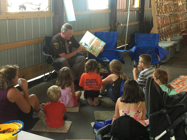 Read Aloud Campaign Comes To Fowlerville Fair