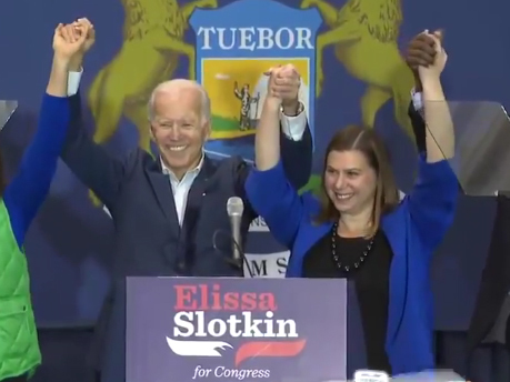 Slotkin Endorses Biden For President