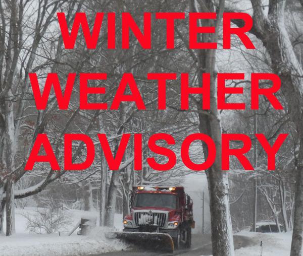 Whmi 93 5 Local News Winter Weather Advisory Prompts Local Snow