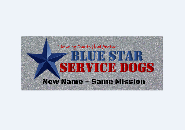 "Stiggy's Dogs Changes Name To ""Blue Star Service Dogs"""