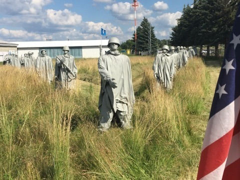 "Korean War Memorial - Sobering Reminder of ""The Forgotten War"""