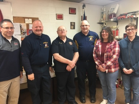 Retirement Party Celebrates Fowlerville Fire Chief