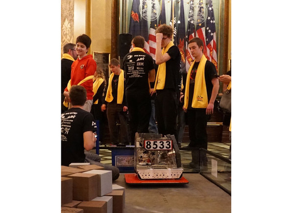 CSPA Robotics Team Receives Decree From Governor, Local Lawmakers