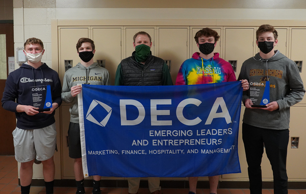 Howell DECA Members Advance To International Competition