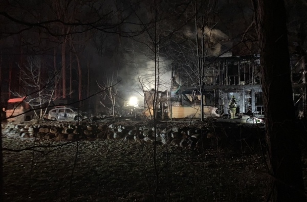 Fire Destroys Marion Township Home