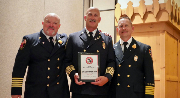 Howell's Pless Named Michigan Fire Chief Of The Year