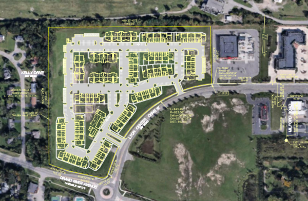 Apartment Complex, Dealership Proposed In Lyon Twp.