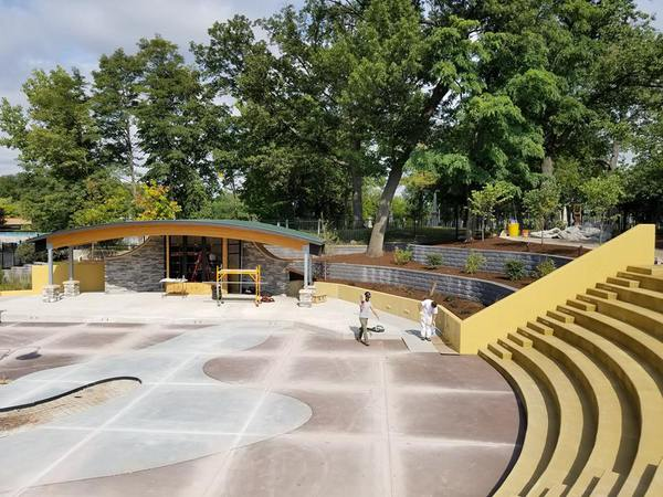 "New Bandshell & Amphitheater Set For ""Soft"" Open Next Month"