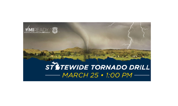 "Statewide Tornado Drill To Be ""Silent"" In Livingston County"